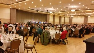 Nearly 400 attended local Republican event.