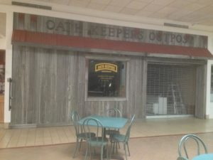 Oath Keepers Outpost in Woodland Mall