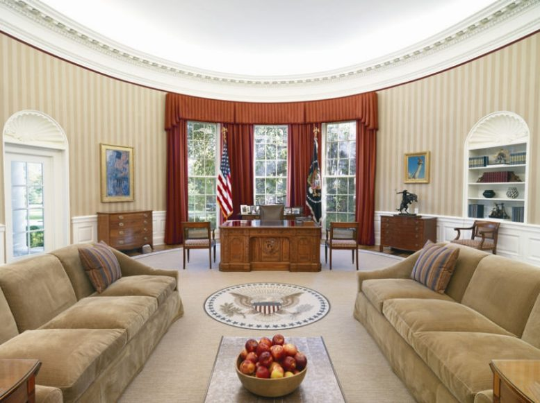 oval office carpet. Photo From BGSU Oval Office Carpet