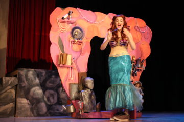 Joelle Stiles as Ariel sings Part of Your World.""