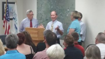 Bob Midden was named Bicycle Spokesperson of the Year.