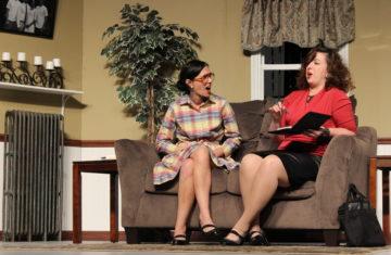 Stephanie Truman, left, and Hilary Packard