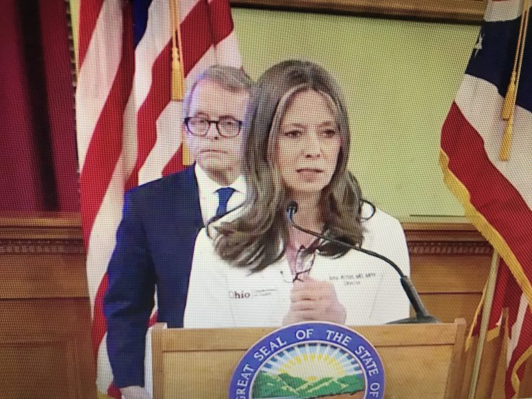 Amy Acton out as Ohio Department of Health director